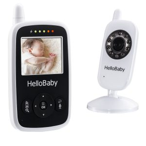 Hello Baby Wireless Video Baby Monitor with Digital Camera HB24