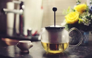 tea kettle using guide