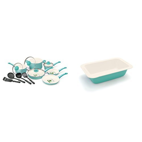 14-Piece Nonstick Ceramic Cookware Set