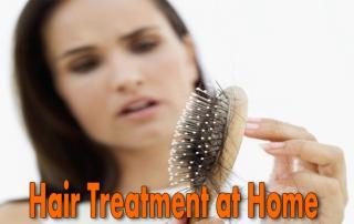hair treatment at home