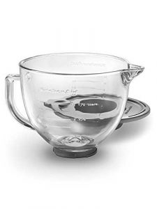 KitchenAid Tilt-Head Glass Bowl