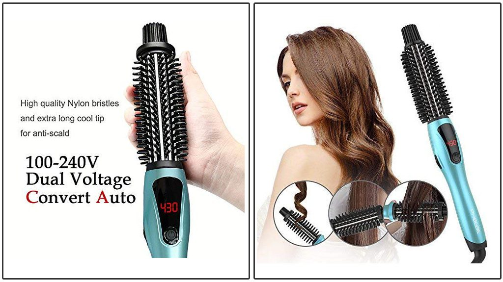 PHOEBE CURLING IRON BRUSH