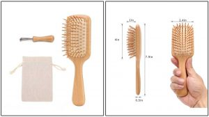 CHOSIN Natural Wooden Hair Brush