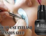 How to Use Eyelash Extension Glue