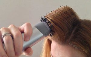 How to use a Hot Air Brush on Short Hair