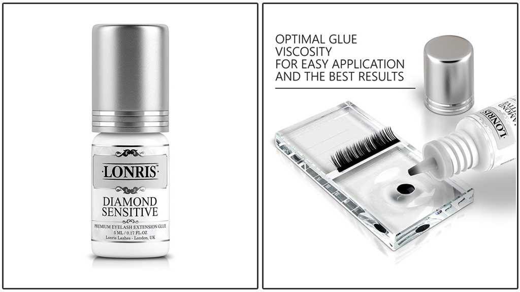 c8b4405d58c LONRIS DIAMOND SENSITIVE Premium Eyelash Extension Glue