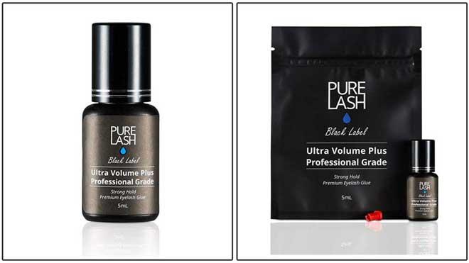 PURE LASH BLACK LABEL Ultra Volume Plus Professional Grade