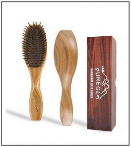 Wooden Hair Brush 2