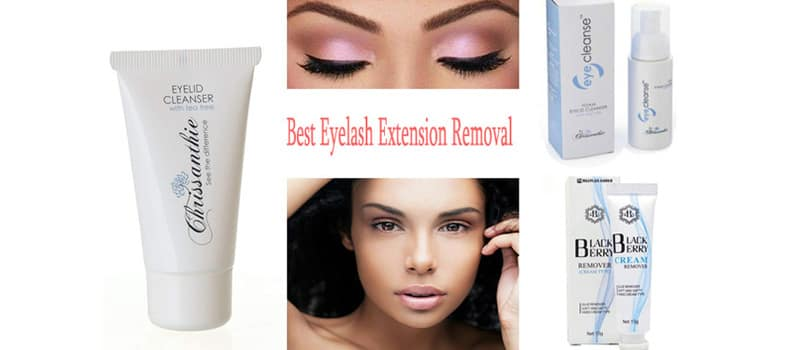Best Eyelash Extension Removal