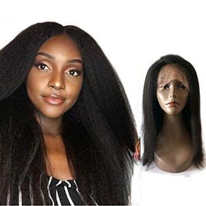 Enoya Hair Italian Yaki 360 Lace Frontal Wig for Black Women