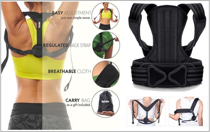Best back posture brace